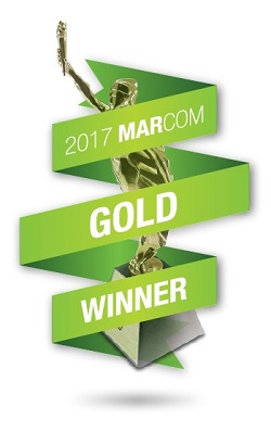 Patterns in Time wins Gold 2017 MarCom Award